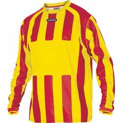 Hummel Atletico Voetbalshirt Lange Mouw - Geel / Rood