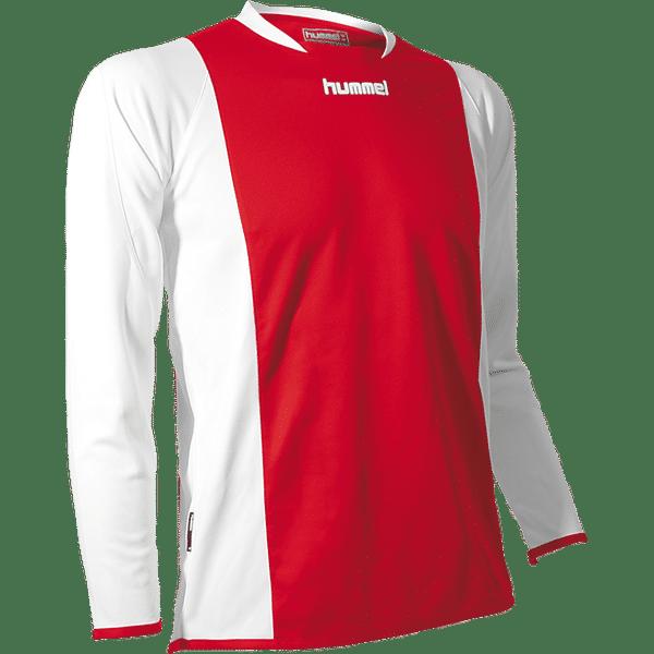 Hummel Beam II Maillot À Manches Longues Enfants - Rouge / Blanc