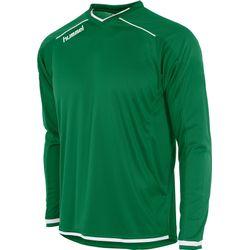 Hummel Leeds Voetbalshirt Lange Mouw Kinderen - Groen / Wit