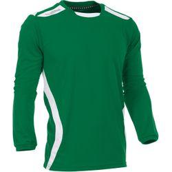 Voorvertoning: Hummel Club Voetbalshirt Lange Mouw Kinderen - Groen / Wit