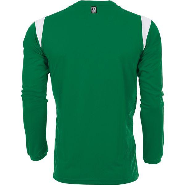 Hummel Club Voetbalshirt Lange Mouw Kinderen - Groen / Wit