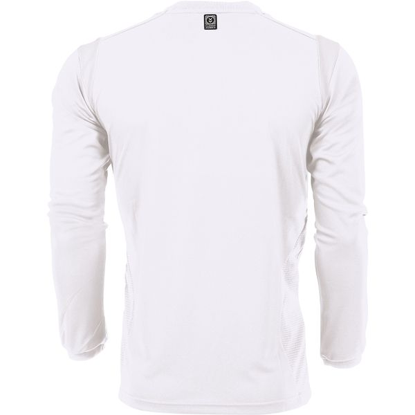 Hummel Club Voetbalshirt Lange Mouw Kinderen - Wit