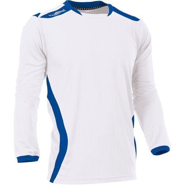 Hummel Club Voetbalshirt Lange Mouw Heren - Wit / Royal