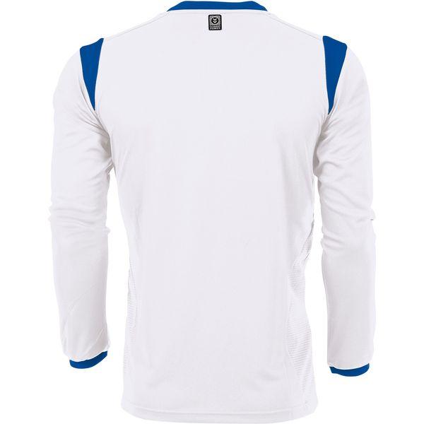 Hummel Club Voetbalshirt Lange Mouw - Wit / Royal