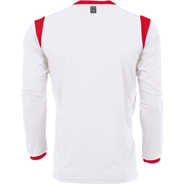Hummel Club Voetbalshirt Lange Mouw Heren - Wit / Rood