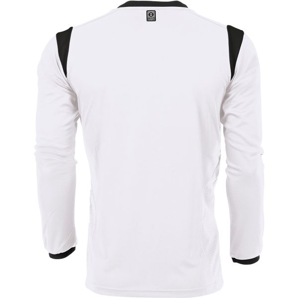 Hummel Club Voetbalshirt Lange Mouw Kinderen - Wit / Zwart