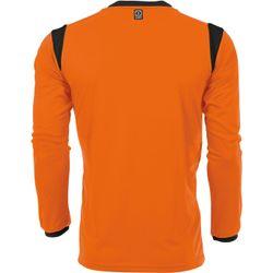 Voorvertoning: Hummel Club Voetbalshirt Lange Mouw Heren - Oranje / Zwart
