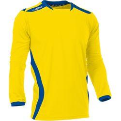 Voorvertoning: Hummel Club Voetbalshirt Lange Mouw Heren - Geel / Royal