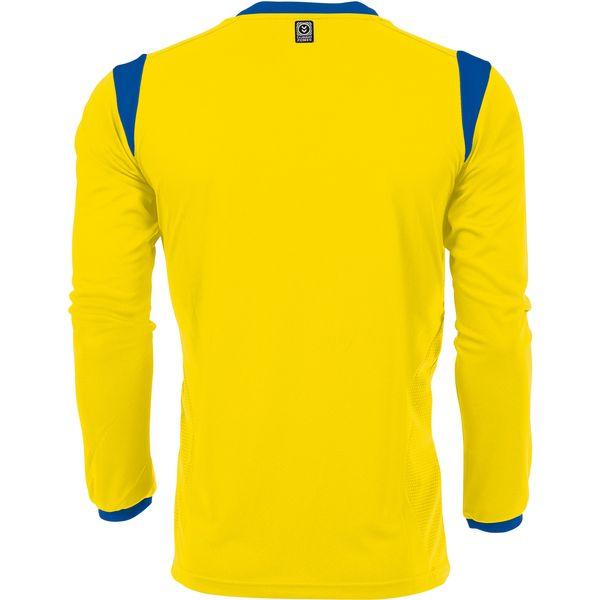 Hummel Club Voetbalshirt Lange Mouw Heren - Geel / Royal