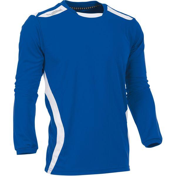 Hummel Club Voetbalshirt Lange Mouw Kinderen - Royal / Wit