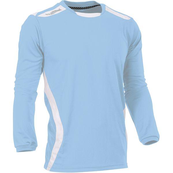 Hummel Club Voetbalshirt Lange Mouw Heren - Lichtblauw / Wit
