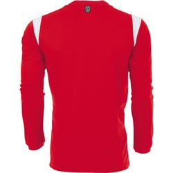 Voorvertoning: Hummel Club Voetbalshirt Lange Mouw Kinderen - Rood / Wit