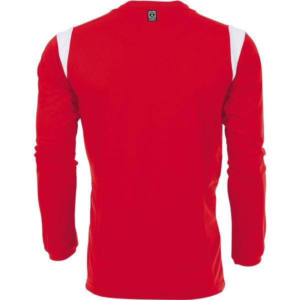 Hummel Club Voetbalshirt Lange Mouw Heren - Rood / Wit