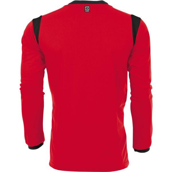 Hummel Club Voetbalshirt Lange Mouw - Rood / Zwart