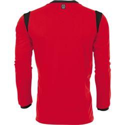 Voorvertoning: Hummel Club Voetbalshirt Lange Mouw - Rood / Zwart