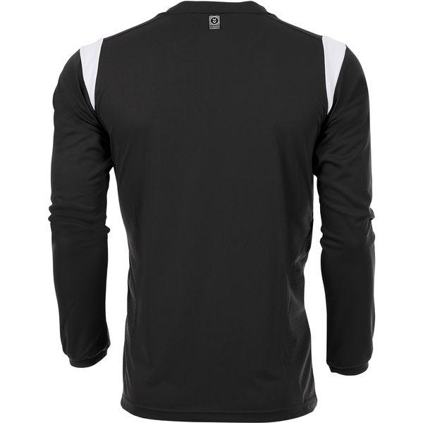 Hummel Club Voetbalshirt Lange Mouw Kinderen - Zwart / Wit