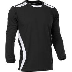 Voorvertoning: Hummel Club Voetbalshirt Lange Mouw Heren - Zwart / Wit