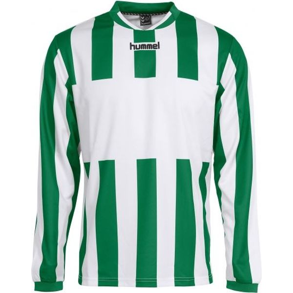 Hummel Madrid Voetbalshirt Lange Mouw Kinderen - Groen / Wit