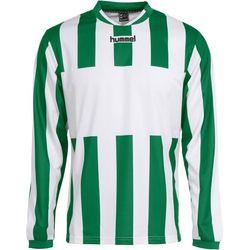 Hummel Madrid Voetbalshirt Lange Mouw Heren - Groen / Wit