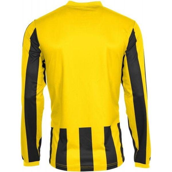 Hummel Madrid Voetbalshirt Lange Mouw Kinderen - Geel / Zwart