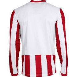 Voorvertoning: Hummel Madrid Voetbalshirt Lange Mouw Kinderen - Wit / Rood