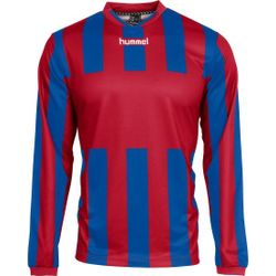 Hummel Madrid Voetbalshirt Lange Mouw Heren - Rood / Royal