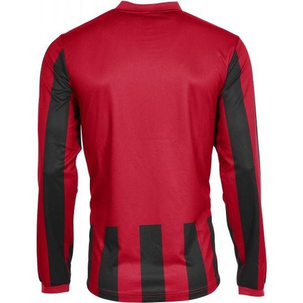 Hummel Madrid Voetbalshirt Lange Mouw Kinderen - Rood / Zwart