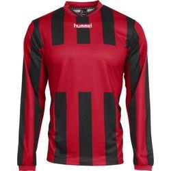 Voorvertoning: Hummel Madrid Voetbalshirt Lange Mouw Heren - Rood / Zwart