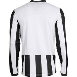 Voorvertoning: Hummel Madrid Voetbalshirt Lange Mouw Heren - Wit / Zwart