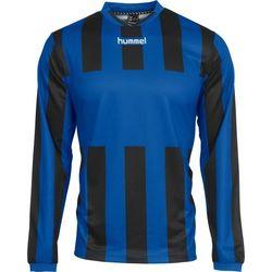 Hummel Madrid Voetbalshirt Lange Mouw Heren - Royal / Zwart