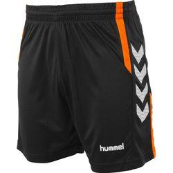 Hummel Aarhus Short Heren - Zwart / Fluo Oranje