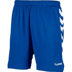 Hummel Burnley Short Heren - Royal / Wit