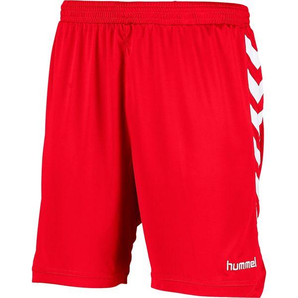 Hummel Burnley Short Heren - Rood / Wit