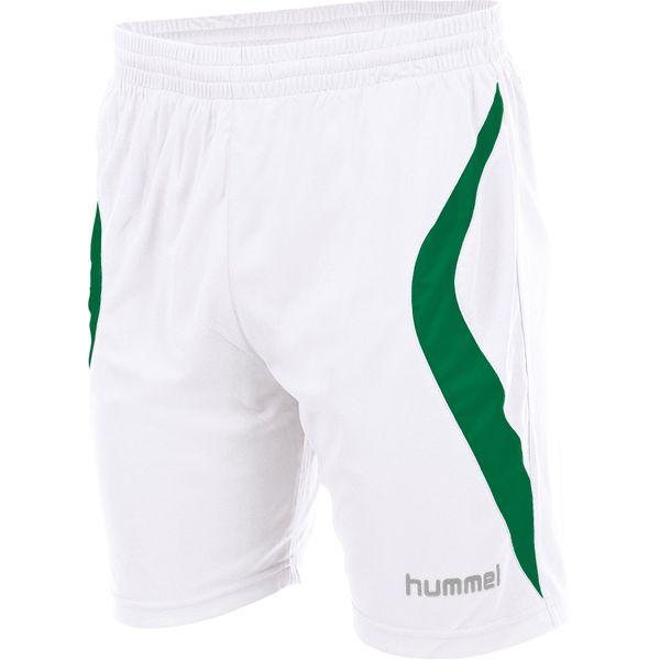 Hummel Manchester Short Enfants - Blanc / Vert