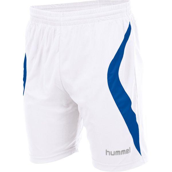 Hummel Manchester Short Heren - Wit / Royal