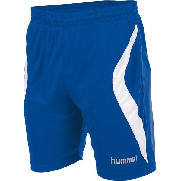 Hummel Manchester Short Heren - Royal / Wit
