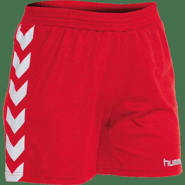 Hummel Brasil Short Femmes - Rouge / Blanc