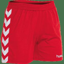 Hummel Brasil Short Dames - Rood / Wit