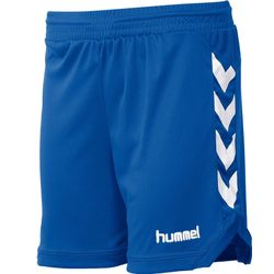 Hummel Burnley Short Femmes - Royal / Blanc