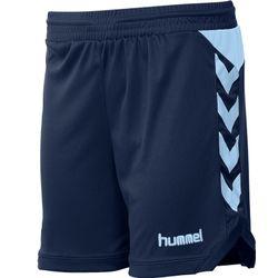 Hummel Burnley Short Dames - Marine / Lichtblauw