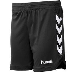 Hummel Burnley Short Dames - Zwart / Wit