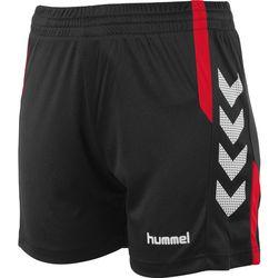 Voorvertoning: Hummel Aarhus Short Dames - Zwart / Rood
