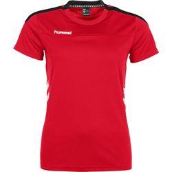 Voorvertoning: Hummel Valencia T-Shirt Dames - Rood