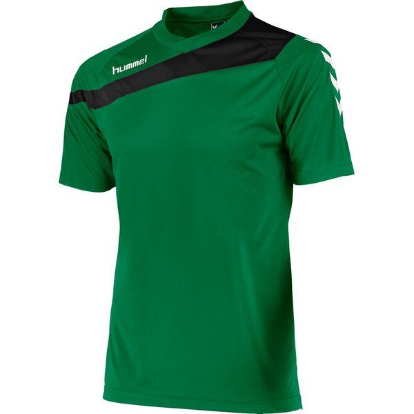 Hummel Elite T-Shirt Kinderen - Groen / Zwart
