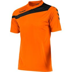 Hummel Elite T-Shirt Heren - Oranje / Zwart