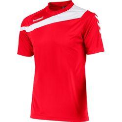 Hummel Elite T-Shirt Heren - Rood / Wit