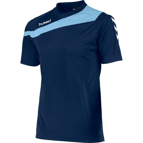 Hummel Elite T-Shirt Kinderen - Marine / Lichtblauw