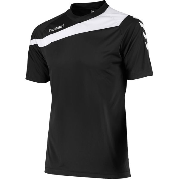 Hummel Elite T-Shirt Kinderen - Zwart / Wit