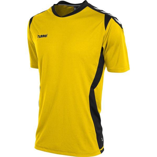 Hummel Paris T-Shirt Heren - Geel / Zwart