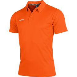 Hummel Authentic Corporate Polo Heren - Oranje